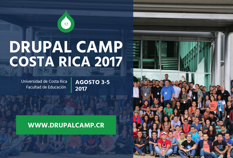 Inscripción al Congreso Drupal Camp CR 2017