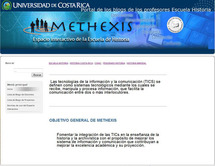 Sitio web Methexis2