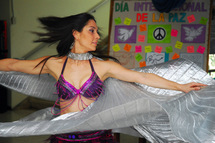 Demostración de belly dance