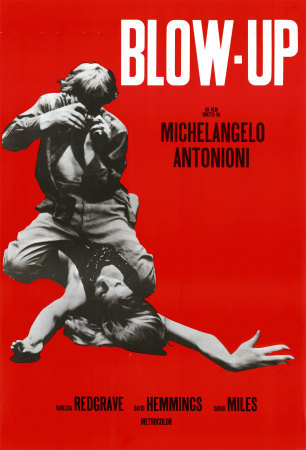 Blow up es protagonizada por David Hemmings y Vanessa Redgrave