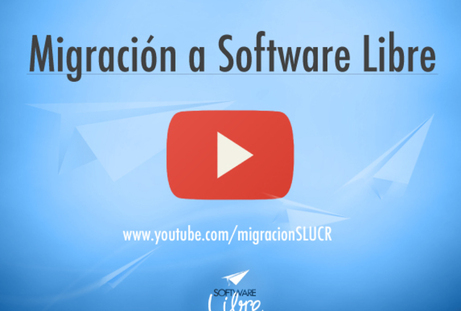 Comunicado: Canal de Youtube: Migración a Software Libre