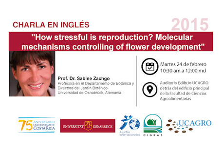Conferencia: How stressful is reproduction? Molecular mechanisms controlling of flower development
