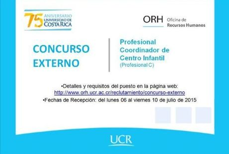Concurso Externo Sede de Occidente