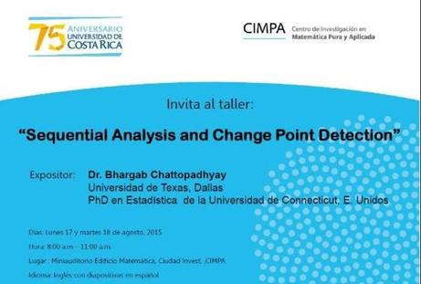 Taller: Sequential Analysis and Change Point Detection