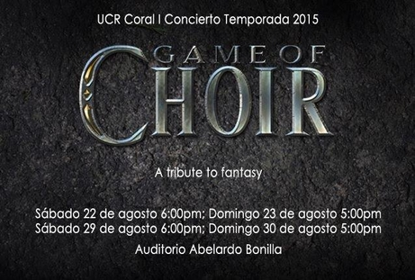 Concierto: Game of Choir