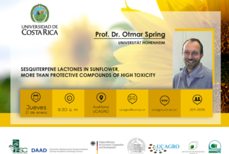 Conferencia: Sesquiterpene lactones in sunflower, more than protective compounds of high toxicity