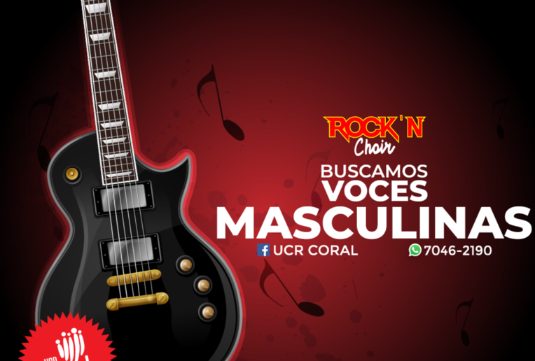 Audiciones para la I Temporada de UCRCoral: Rock N' Choir 70s & 80s music
