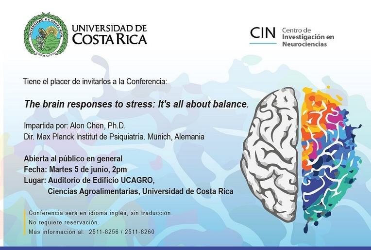 Conferencia: The brain responses to stress: It's all about balance