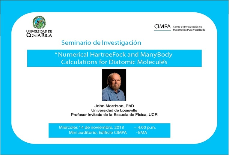 Seminario de Investigación: Numerical Hartree-Fock and Many-Body Calculations for Diatomic …