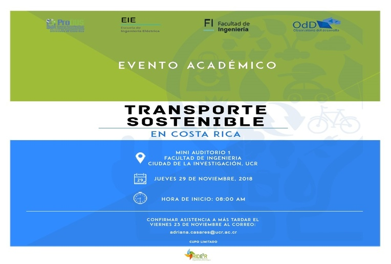 Conferencia: Transporte Sostenible en Costa Rica