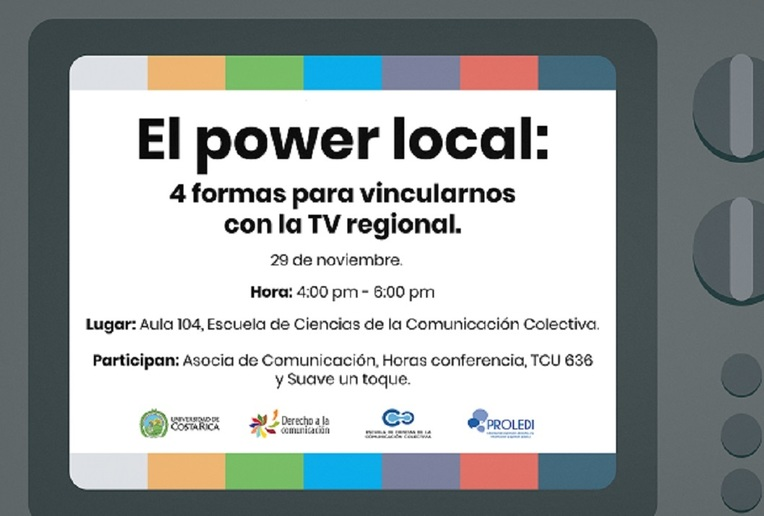 Conversatorio: El power local: 4 formas para vincularnos con la TV regional