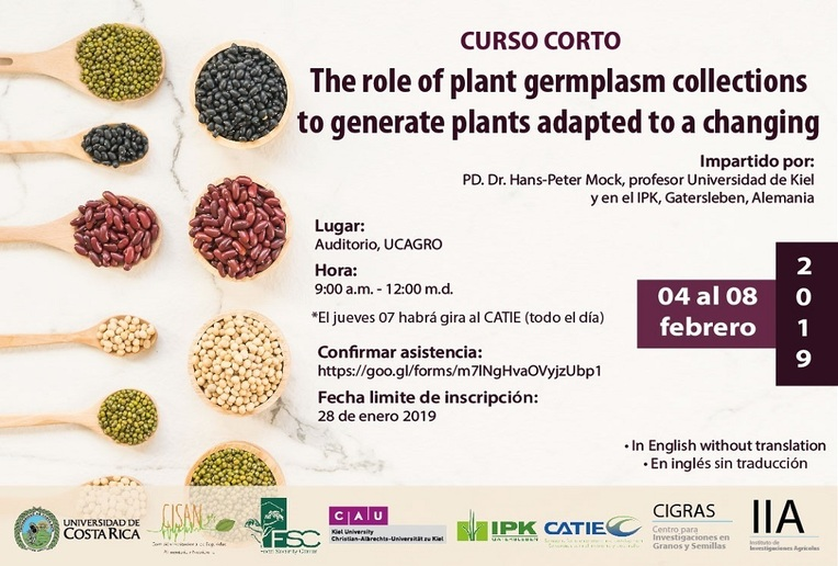 Curso Corto: The role of plant germplasm collections to generate plants adapted to a changing