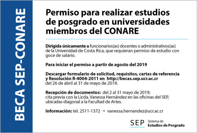 Becas SEP-CONARE