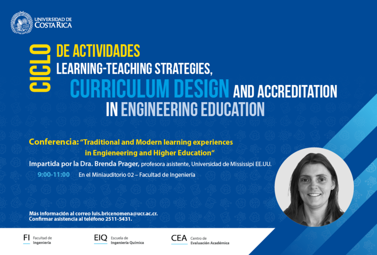 Taller: Learning-Teaching strategies, curriculum design and accreditation in Engineering Education