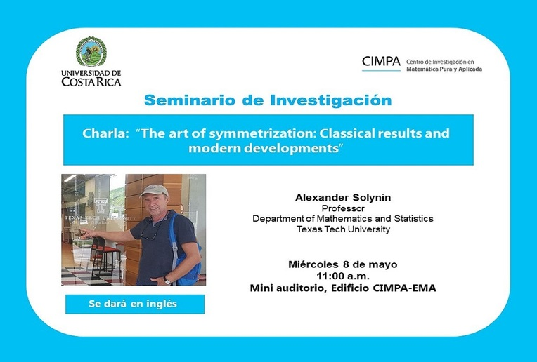 Charla: The art of symmetrization: Classical results and modern developments