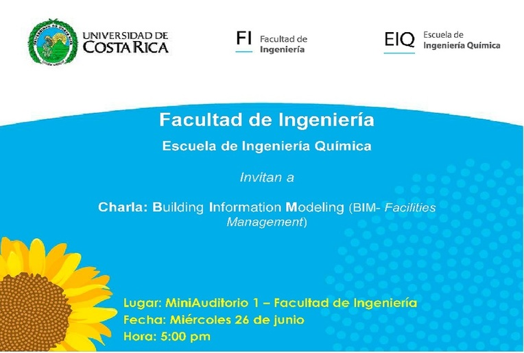 Charla: Building Information Modeling (BIM- Facilities Management)