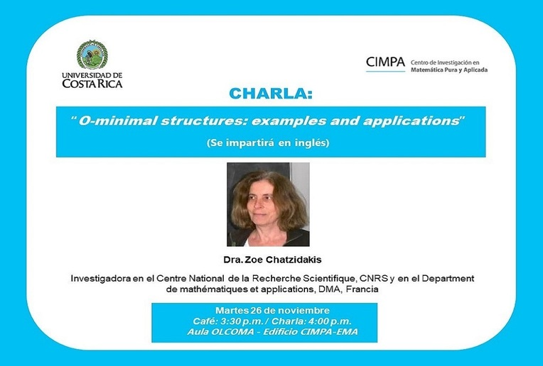 Charla: O-minimal structures: examples and applications