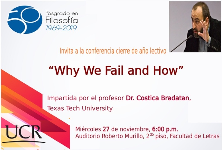 Conferencia: Why We Fail and How