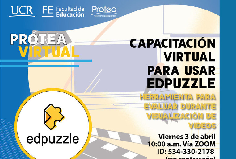 Video conferencia: Capacitación Virtual: Usar Edpuzzle