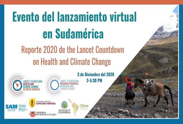 Video conferencia: Lanzamiento mundial del Reporte 2020 de The Lancet Countdown: Tracking …