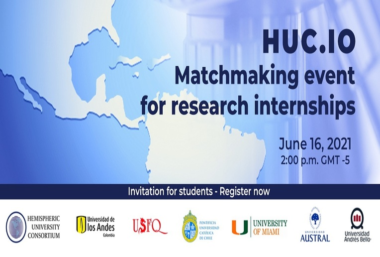 Charla: Matchmaking event for research internships