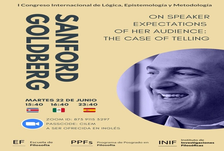 Conferencia: On speaker expectations of her audience: the case of telling